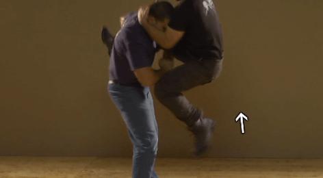 Releasing Caught Kicking Leg G5