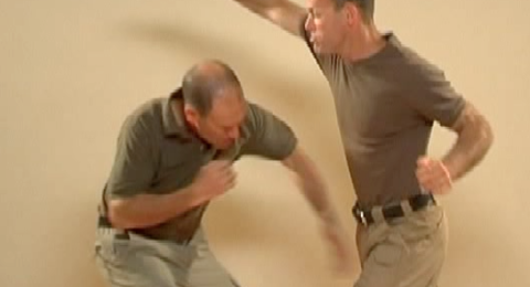 Body Defense with Hand Strike to Groin P2